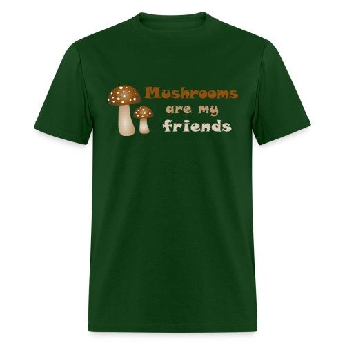 random shirt funny mushroom saying - Men's T-Shirt