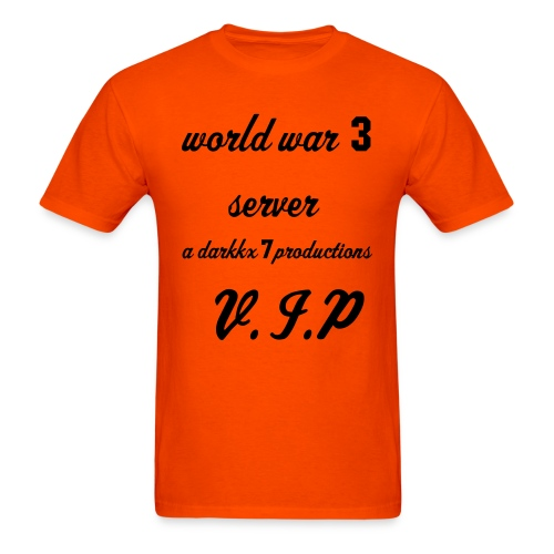 WW3 fan shirt - Men's T-Shirt