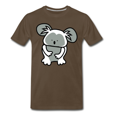 Brown simple cute koala bear T-Shirts