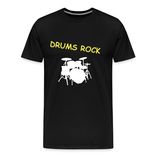 DRUMS ROCK - Men's Premium T-Shirt