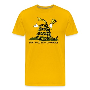 Tea Bag Flag - Men's Premium T-Shirt