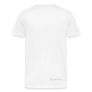 Fick Ja Airride - White/White - Men's Premium T-Shirt