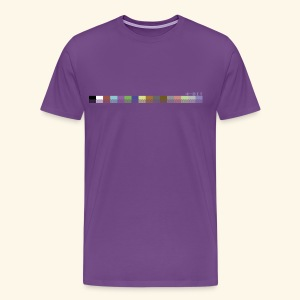 colorPalette64 - Men's Premium T-Shirt
