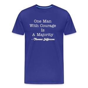 Courage - Men's Premium T-Shirt