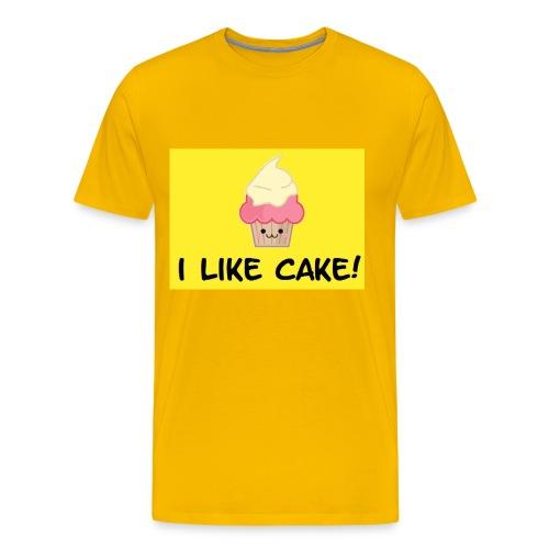 i like cake! - Men's Premium T-Shirt