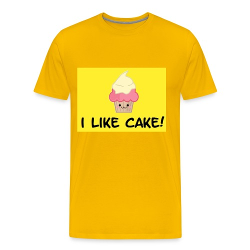 i like cake! - Men's Premium T-Shirt