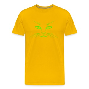 Cat Face - Men's Premium T-Shirt