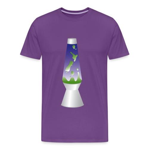 Men's Lava Land Tee - Men's Premium T-Shirt