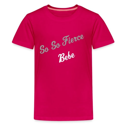 Child's (Girl) So So Fierce - Kids' Premium T-Shirt