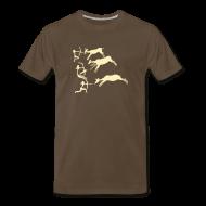T-Shirts ~ Men's Premium T-Shirt ~ Lascaux Cave Art Shirt