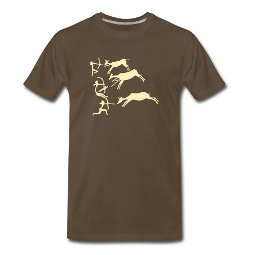 Lascaux Cave Art Shirt - Men's Premium T-Shirt