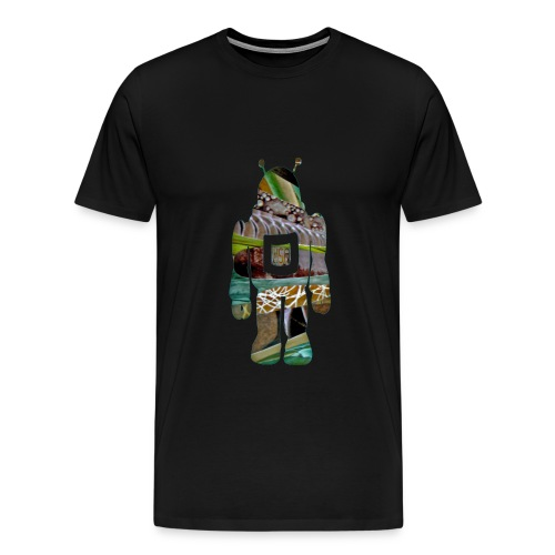 SkyLine-SpaceMan Tee - Men's Premium T-Shirt