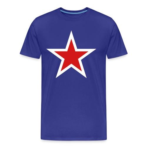 Men's New Zealand Star Tee - Men's Premium T-Shirt