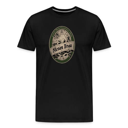 MesanBrau3x - Men's Premium T-Shirt