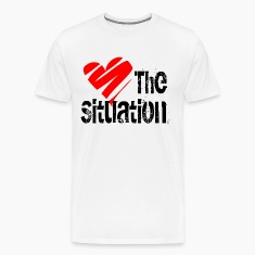 White Love the Situation T-Shirts