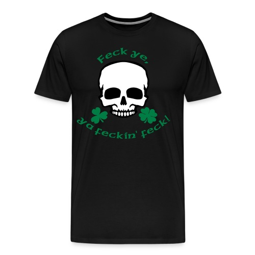 Irish Attitude - Men's Premium T-Shirt