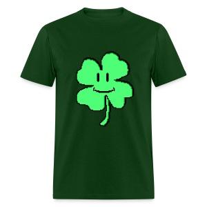 Mario Style Clover - Men's T-Shirt
