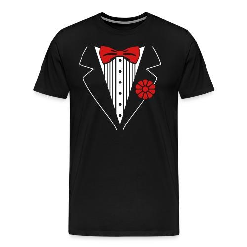 Tuxedo T-Shirt - Men's Premium T-Shirt