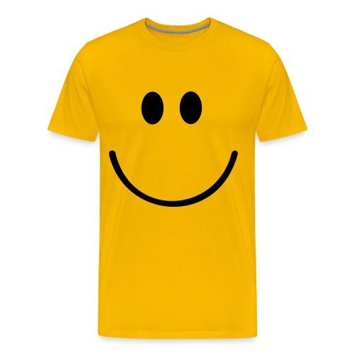 Smiley Face T-Shirt - Men's Premium T-Shirt