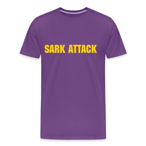Sark Attack - Men's - Men's Premium T-Shirt