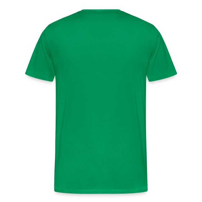 Sail Away -White Design on Mens Heavyweight T-Shirt
