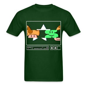 Super Mario Bros With a St Patrick's Day Twist - Men's T-Shirt