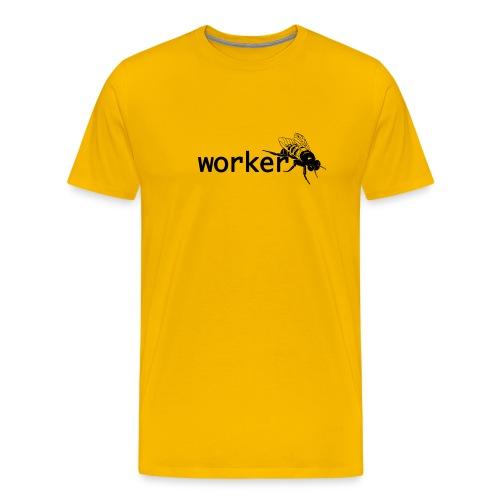 worker bee - Men's Premium T-Shirt