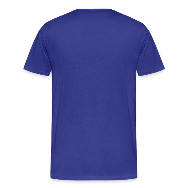 Sail Away - Powder Blue Design on Mens 3XL T-Shirt