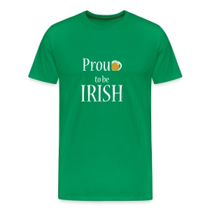 Proud to be Irish - Men's Premium T-Shirt