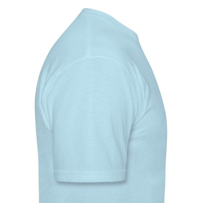 Sail Away - Royal Blue Design on Mens Heavyweight T-Shirt