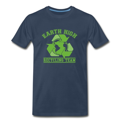 Earth High Navy - Men's Premium T-Shirt