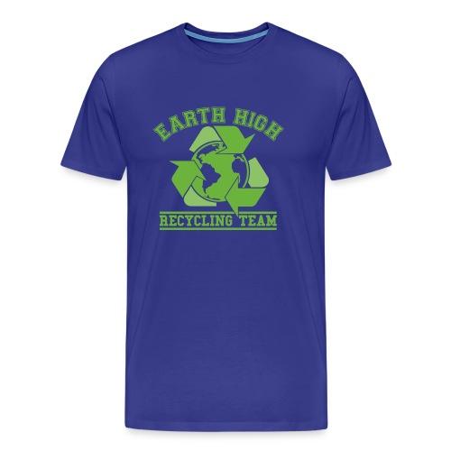 Earth High Blue - Men's Premium T-Shirt