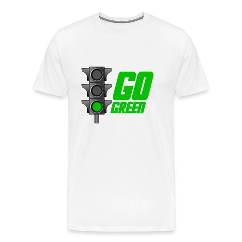 Go Green - Men's Premium T-Shirt
