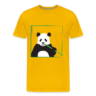 Yellow panda T-Shirts