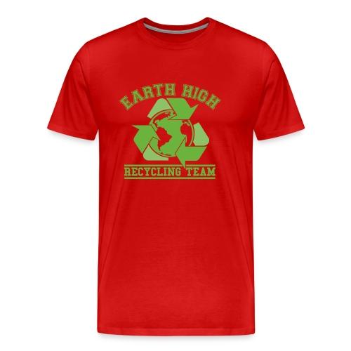Earth High Red - Men's Premium T-Shirt