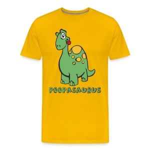 Poopasaurus shirt - Men's Premium T-Shirt
