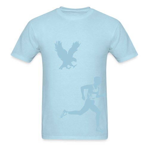 the running man - Men's T-Shirt