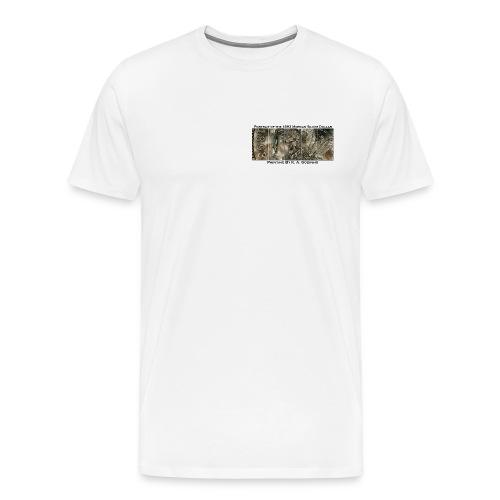 1893 Morgan Silver Dollar T-shirt - Men's Premium T-Shirt