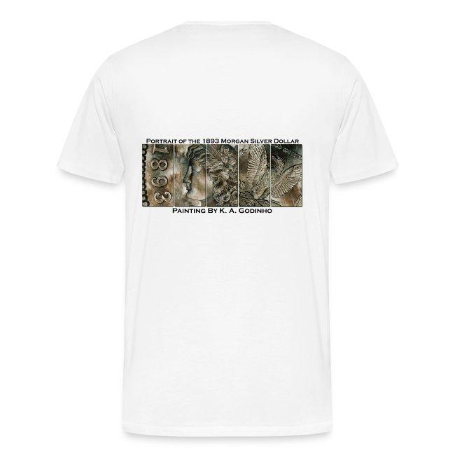 1893 Morgan Silver Dollar T-shirt