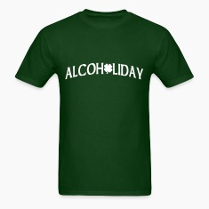 Forest green Alcoholiday T-Shirts