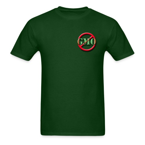 NO GMO Heavyweight Cotton green - Men's T-Shirt