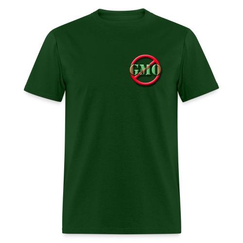NO GMO Heavyweight Cotton green - Men's T-Shirt