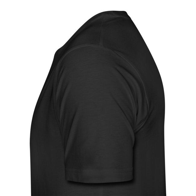 Morgan Silver Dollar Obverse Men's Black T-Shirt