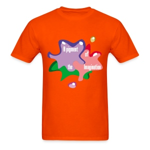 Pigment of Imagination - Men's T-Shirt