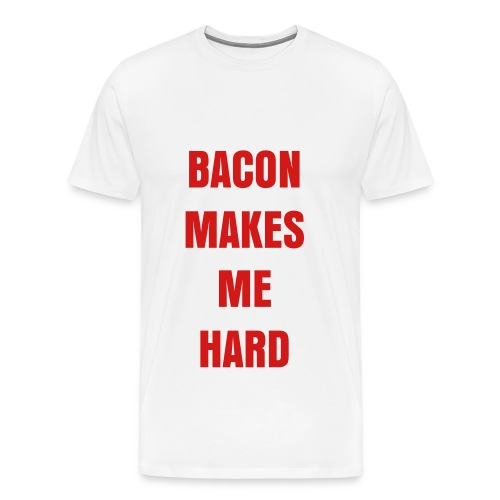 MMMM Bacon! White - Men's Premium T-Shirt