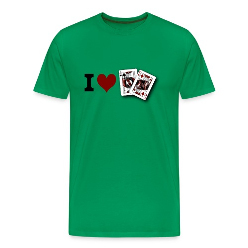 I Love Jack King off (suit) - Men's Premium T-Shirt