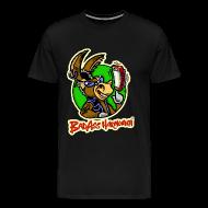 T-Shirts ~ Men's Premium T-Shirt ~ BadAss Harmonica 3XL t-shirt (black)