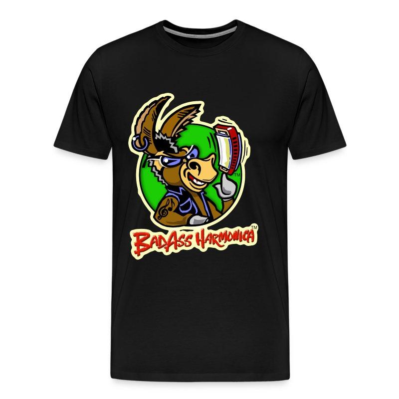 BadAss Harmonica 3XL t-shirt (black) - Men's Premium T-Shirt