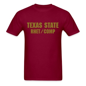 Texas State Rhet/Comp T-Shirt - Men's T-Shirt