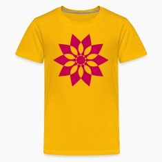 Yellow star Kids' Shirts
